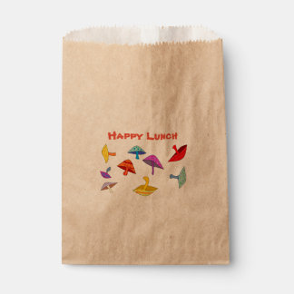 happy lunch mushrooms favour bags