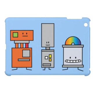 Happy Machine Robots Case For The iPad Mini