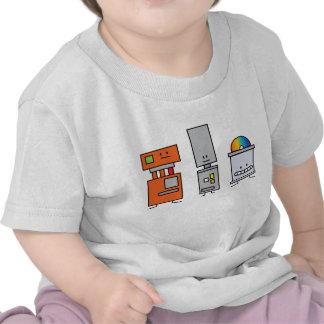 Happy Machine Robots Tshirts