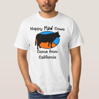 Happy Mad Cows Tee Shirts