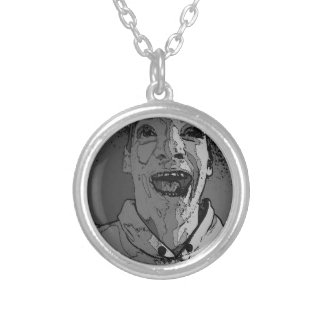 Happy Madness Silver Plated Necklace
