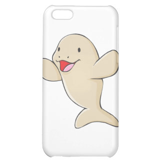 Happy Manatee Cartoon Cover For iPhone 5C