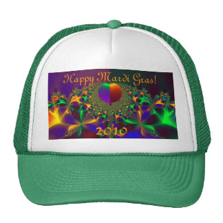 Happy Mardi Gras!  2010 Mesh Hat