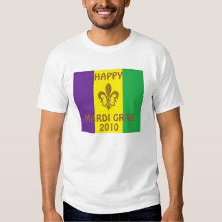 HAPPY MARDI GRAS 2010 TEES