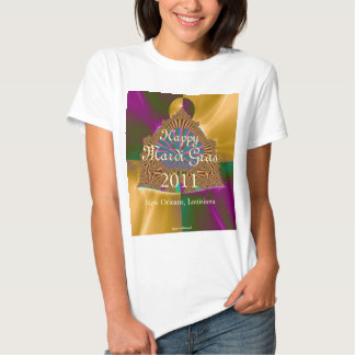 Happy Mardi Gras 2011 (2) T-shirt