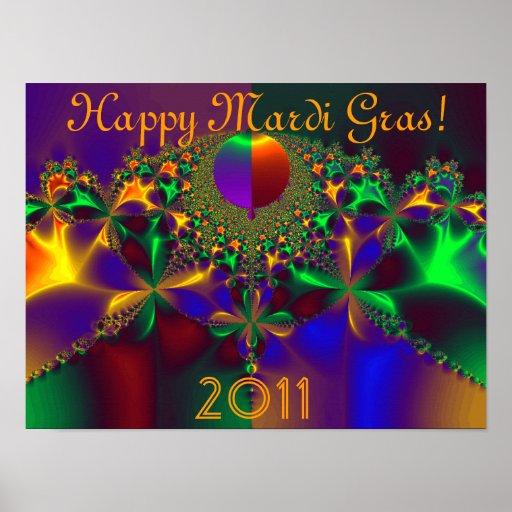 Happy Mardi Gras!  2011 Print
