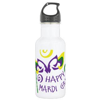 HAPPY MARDI GRAS 532 ML WATER BOTTLE