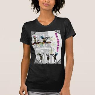 Happy Mardi Gras--Balcony Scene T-Shirt