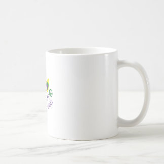 HAPPY MARDI GRAS BASIC WHITE MUG