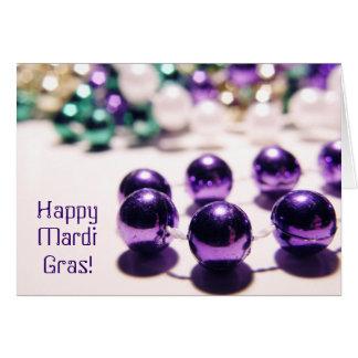 Happy Mardi Gras! Card