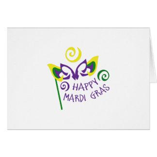 HAPPY MARDI GRAS CARDS