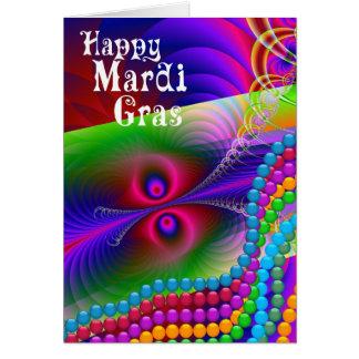 Happy Mardi Gras Card