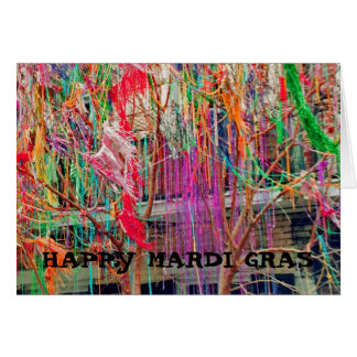 HAPPY MARDI GRAS CARD