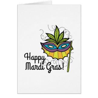 Happy Mardi Gras Greeting Cards