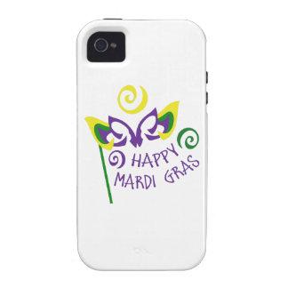 HAPPY MARDI GRAS iPhone 4 CASE