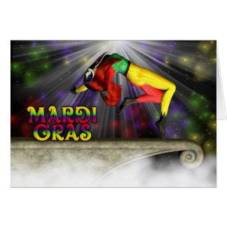 Happy Mardi Gras Celebration Cards