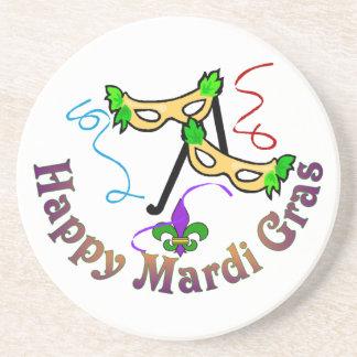 Happy Mardi Gras Coaster