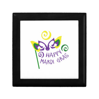 HAPPY MARDI GRAS GIFT BOXES