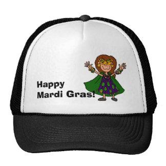 Happy Mardi Gras! Mesh Hats