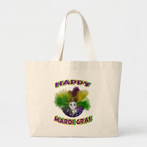 Happy Mardi Gras Mask Bags