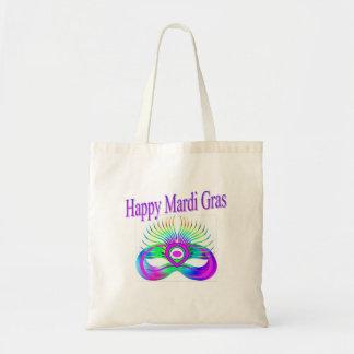 Happy Mardi Gras Mask Bag