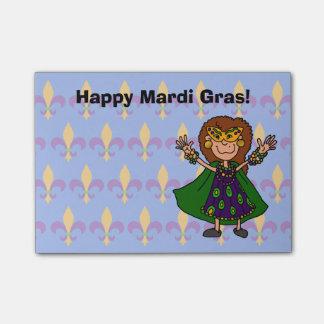 Happy Mardi Gras! Post-it® Notes