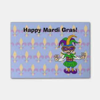 Happy Mardi Gras! Post-it Notes