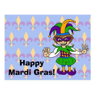 Happy Mardi Gras! Postcard