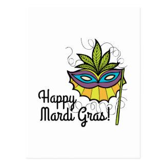 Happy Mardi Gras Postcards