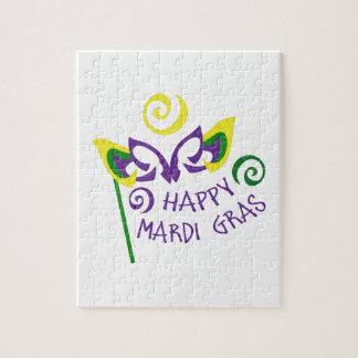 HAPPY MARDI GRAS JIGSAW PUZZLES