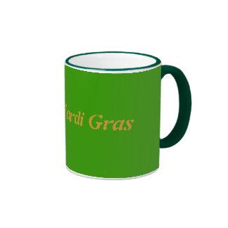 Happy Mardi Gras Ringer Mug