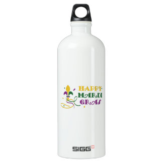 HAPPY MARDI GRAS SIGG TRAVELLER 1.0L WATER BOTTLE