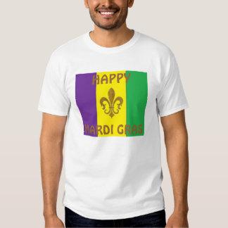 HAPPY MARDI GRAS T-SHIRTS