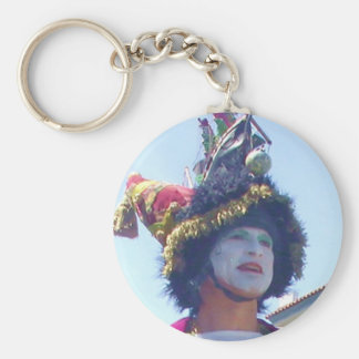 Happy Mardis Gras clown Keychain