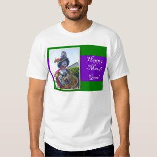 Happy Mardis Gras clown Tee Shirts