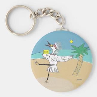Happy Maui Visitor Key Ring