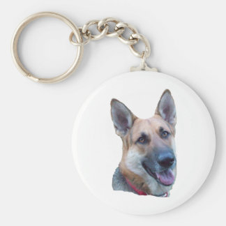 Happy Max Basic Round Button Key Ring