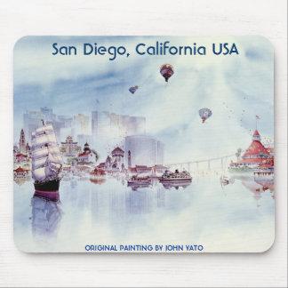 HAPPY MEMORIES, SAN DIEGO CALIFORNIA MOUSE MAT