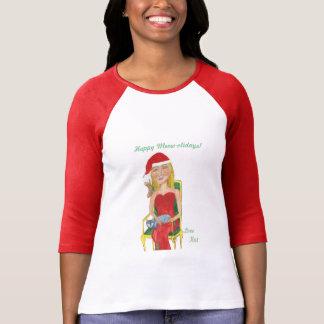 Happy Meow-olidays! Love Kat T-Shirt