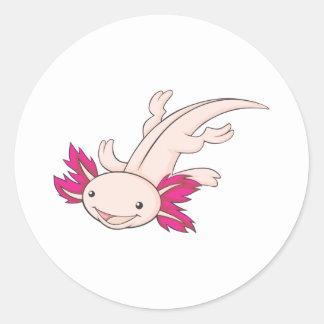 Happy Mexican Axolotl Sticker