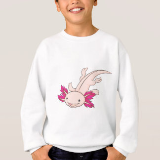 Happy Mexican Axolotl Sweatshirt