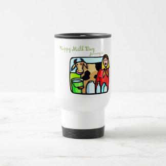 Happy Milk Day January 11 Coffee Mugs