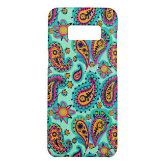 Happy Mint and Orange Paisley Pattern Case-Mate Samsung Galaxy S8 Case
