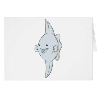 Happy Mola Fish Greeting Card