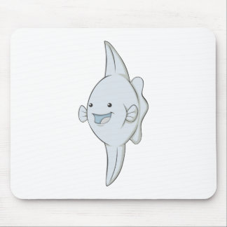 Happy Mola Fish Mouse Pads