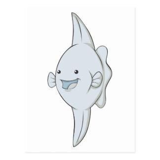 Happy Mola Fish Postcard