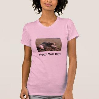 Happy Mole Day Tee Shirt