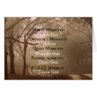 Happy Moments Praise God Quote Card