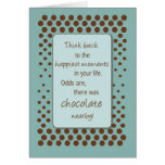 Happy Moments With Chocolate Birthday Card