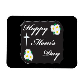 Happy Moms Day Rectangle Magnet